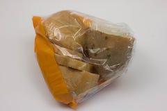 面包新鲜的麦子 查出在白色 免版税库存图片