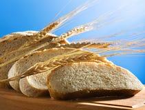 面包新鲜的麦子 免版税库存照片