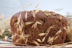 面包新鲜的黑麦 库存照片