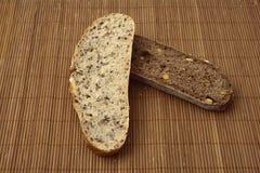面包有机全麦 库存图片