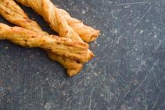 面包条用乳酪 库存照片