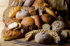 面包构成 免版税库存照片