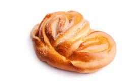 面包查出一卷白色 库存照片