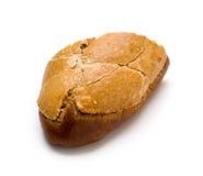 面包查出的葡萄干麦子空白全部 库存图片