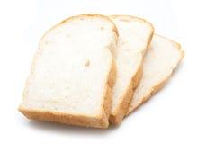 面包查出的被切的白色 免版税库存图片