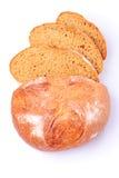 面包查出的黑麦 库存照片