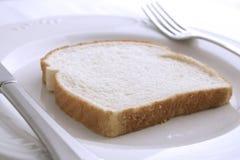 面包正餐白色 免版税库存图片