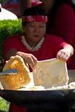 面包油炸物 库存图片