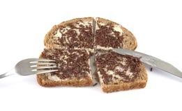 面包洒 免版税图库摄影
