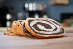 面包漩涡 库存照片