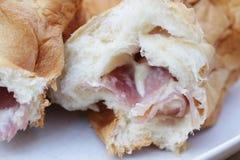 面包火腿乳酪 库存照片
