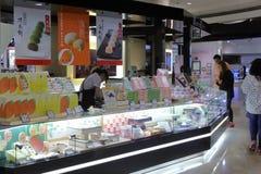 面包点心店在台北 免版税图库摄影