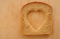 面包爱麦子 免版税图库摄影