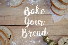 面包片 库存照片
