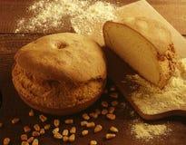面包玉米大面包 免版税库存照片