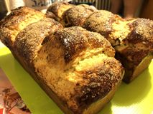 面包甜点 库存照片