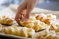 面包甜点 库存图片