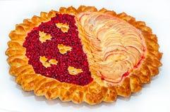 面包用蔓越桔和苹果 库存照片