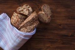 面包用谷物 免版税库存照片