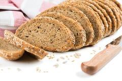 黑面包用谷物 图库摄影