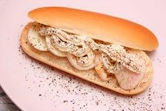 面包用鸡蛋 库存图片