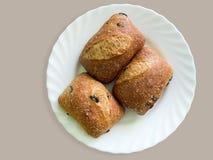 面包用黑橄榄 库存照片
