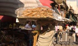 面包男孩 图库摄影