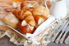 面包的多种类型 库存图片