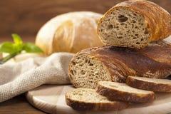面包的混合 免版税库存图片