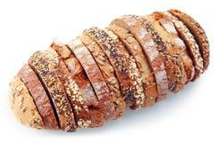 面包的艺术性的被分类的类型大面包  库存照片