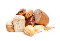 面包的类型 库存图片