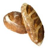 面包空白查出的大面包 图库摄影