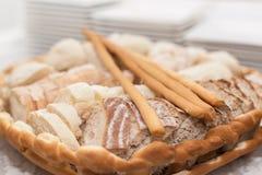 面包篮子 库存图片