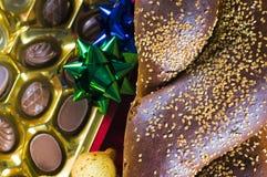 面包糖果节假日 库存图片