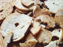 面包芯片 免版税库存图片