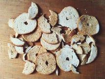 面包芯片 库存图片