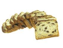 面包葡萄干 库存照片