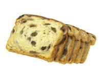 面包葡萄干 免版税图库摄影