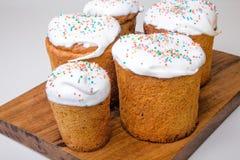 面包蛋糕装饰复活节传统 库存图片