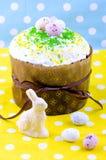 面包蛋糕装饰复活节传统 免版税图库摄影