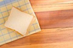 面包被切的白色 免版税图库摄影