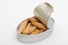 面包装了于罐中 免版税图库摄影