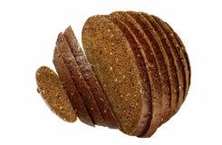 面包裸麦粉粗面包 免版税库存照片