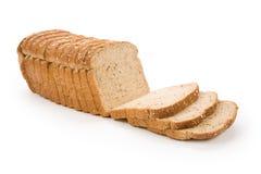 面包褐色切了 图库摄影