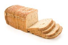 面包褐色切了 免版税库存图片
