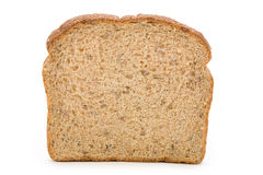 面包褐色切了 免版税库存照片