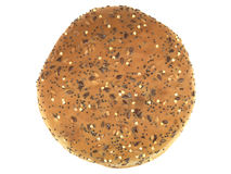 面包褐色卷 库存图片