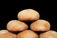 面包金字塔 免版税库存照片