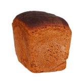 面包隔离黑麦白色 免版税库存图片