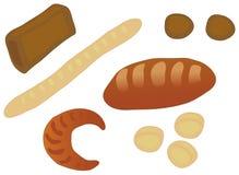 面包集 免版税库存照片